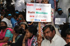Dalit Christians, Muslims demand quotas in India
