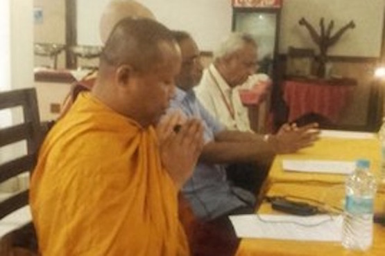 Buddhist and Christian clergy talk ecology and faith