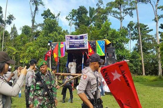 Rights group condemn arrest of 15 Papuan activists