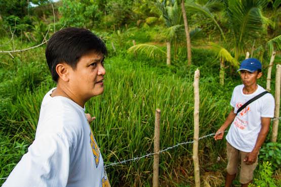 Filipino priest spreads the good news via organic farming