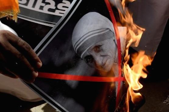 Bishop demands action against anti-Mother Teresa MP