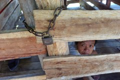 Chained-up in Cambodia