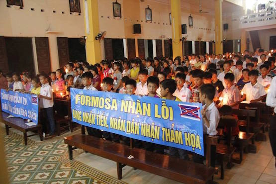 Diocese in Vietnam responds to toxic waste disaster