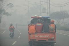 Respiratory ailments surface as haze blankets Borneo