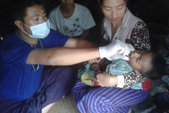 Measles still a killer in Myanmar's isolated Naga region