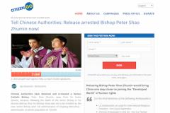 Petition demands Beijing release underground bishop