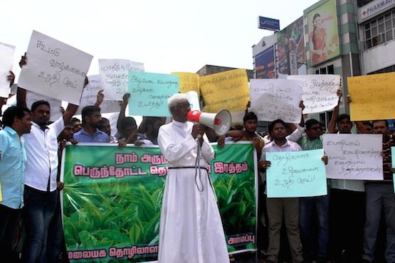 Sri Lanka tea plantation workers demand wage hike