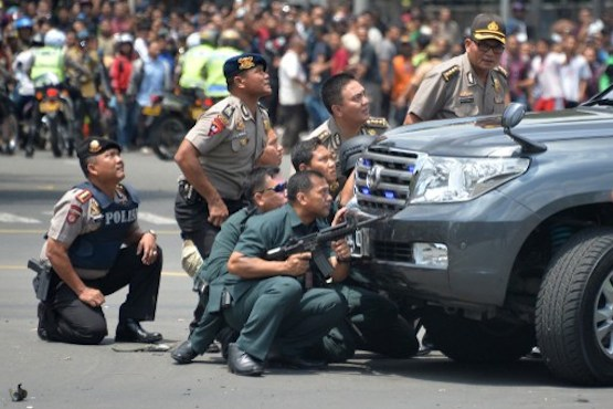Police reveal scope of foiled Jakarta terror plot