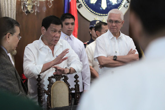 Duterte refuses to release all political prisoners