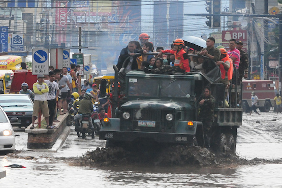 Philippine Catholic parishes urged to aid flood victims