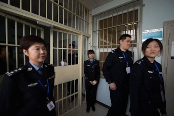 Chinese Christian prisoner attacked by police officer