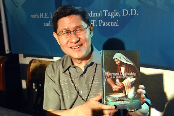 Cardinal Tagle launches book on 'servant leadership'