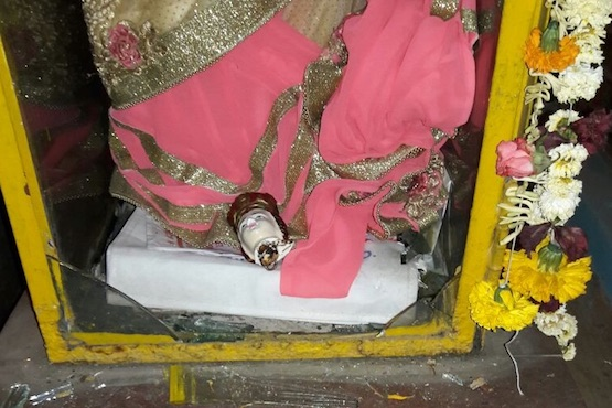 Marian statue decapitated in Mumbai