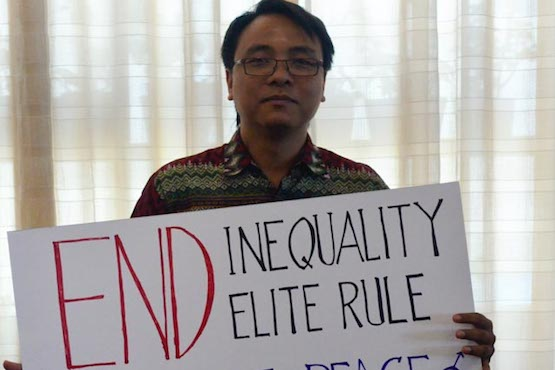 Global campaign against inequality launches in Manila