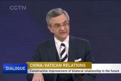 First Chinese TV broadcast on China-Vatican issue