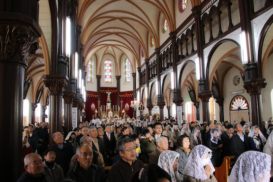 Japanese Catholics celebrate anniversary of hidden communities