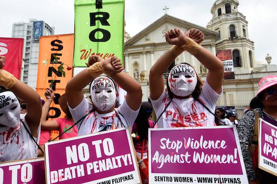 Philippine church, activists slam kill bill passage