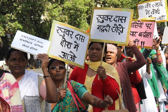 Indian bishops support attempt to stop land grabs