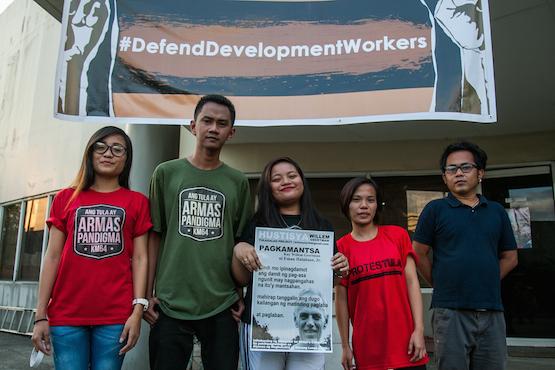 Priest accuses govt of targeting Filipino activists