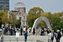 Hiroshima's governor invites pope to atomic-bombed city