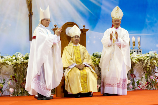 New bishop installed in South Korea's Jeonju Diocese