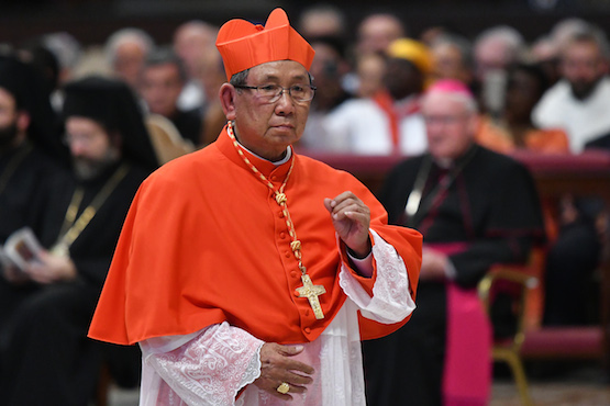 Pope creates first ever cardinal in Laos