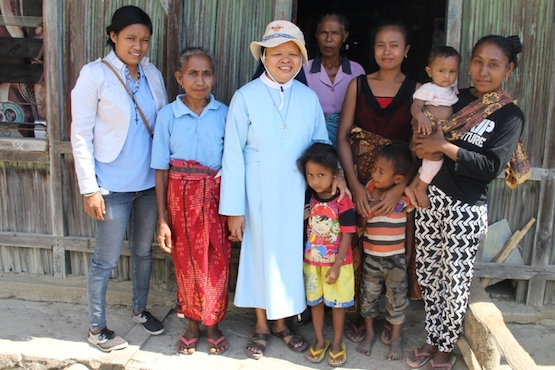 Nun offers lifeline to refugees who fled Timor Leste