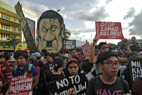 Duterte warns mining firms, vows to pursue drugs war