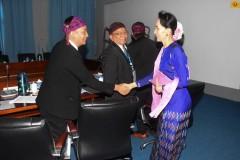 Kachin Baptists meet Suu Kyi over conflict concerns