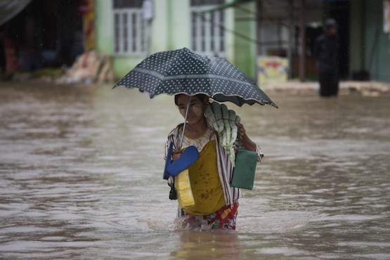 Church stands ready to respond to Myanmar flooding