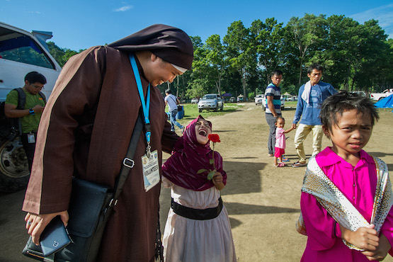 Filipino nun brings hope to disaster-scarred communities