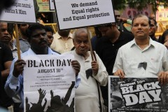 Indian Christians observe Black Day for Dalit rights