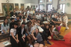 Young Koreans journey to Hiroshima on peace pilgrimage