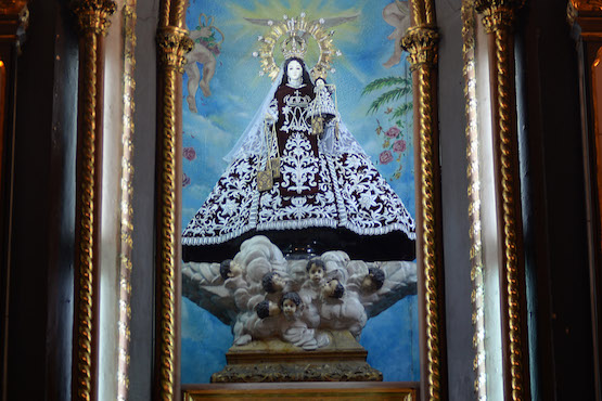 Religious order seeks to recover stolen parts of Marian statue