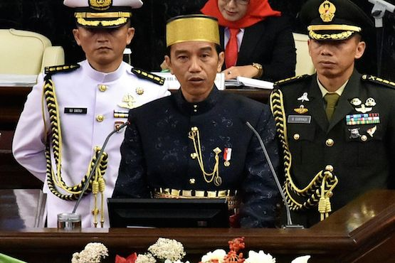 Indonesia president issues rallying cry against extremism