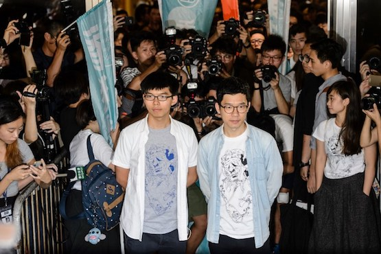 Cardinals outraged as Hong Kong jails young politicians
