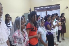 Sri Lankan catechist serves through many difficulties