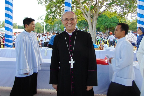 Vatican envoy to Southeast Asia named nuncio to Middle-East