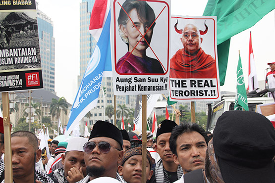 Regional Muslims' fury at Aung San Suu Kyi