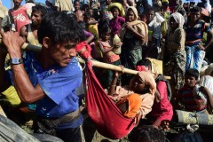 Massive influx of 50,000 Rohingya in a day to Bangladesh