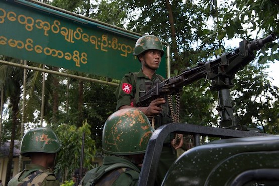 Myanmar army accused of crimes against humanity