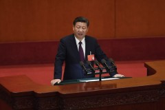 Xi takes charge in China, religion in his sights