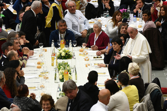 Invest in love, pope says on first World Day of the Poor