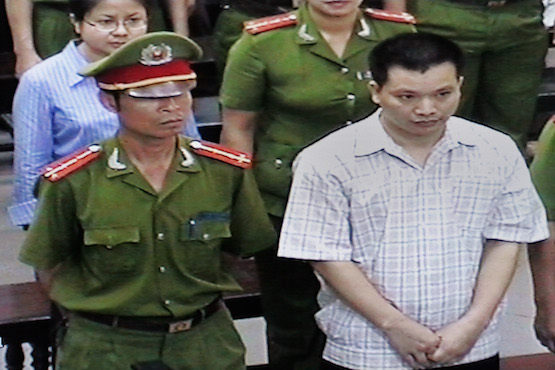 Rights group calls for EU pressure on Vietnam over detainees
