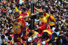 Black Nazarene devotees told not to forget Marawi