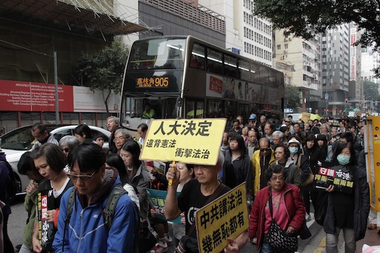Occupy protesters seek justice in Hong Kong