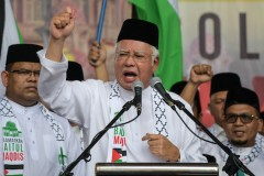 Najib gets a run for his money in Malaysia