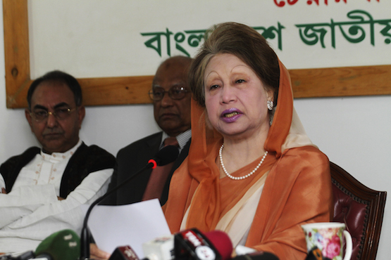 Former Bangladesh Premier Khaleda Zia sentenced to five years in jail