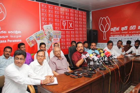 Former president rattles Sri Lanka's political status quo