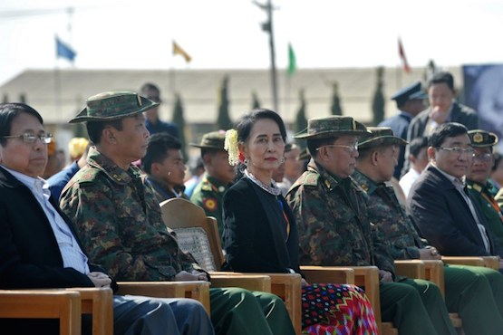 Armed groups sign ceasefire pact amid fighting in north Myanmar